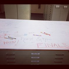 Let students rant and rave about finals. All you need is some paper and crayons!