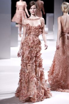 Runway Inspiration: #ElieSaab Spring 2011 Couture