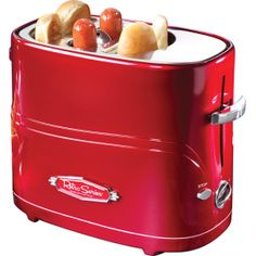 This is pretty cool. :) who would have thought to make a hot dog toaster.
