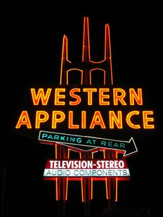 Western Appliance Sign, San Jose by hmdavid, via Flickr