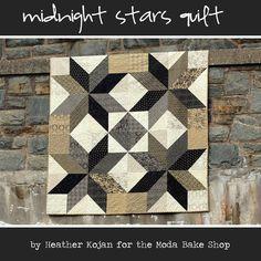 Moda Bake Shop: Midnight Stars Quilt