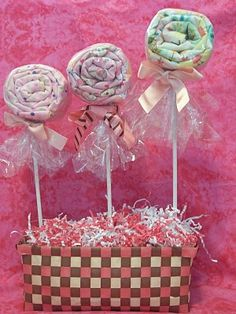 Tutorials for Baby shower gifts