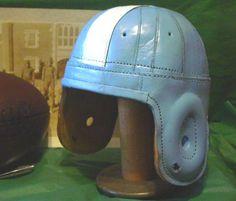 Old Carolina leather football helmet