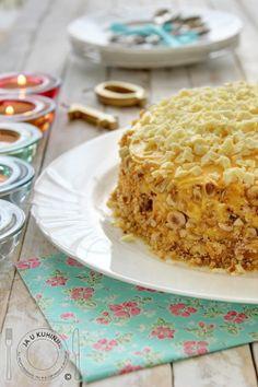 JA U KUHINJI...: Lešnik torta