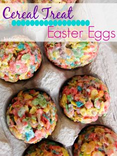 Use plastic eggs and Fruity Pebbles cereal to make these cute Easter Egg Cereal Treats! My kids will LOVE these! Egg Recipes, Pebbl Cereal, Easter Sweets, Treat Easter, Plastic Egg, Fruiti Pebbl, Easter Eggs, Cereal Treats, Easter Treats