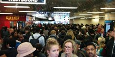 Debris from hole in tunnel creates chaos on Toronto subway line Part of #TTC line shut down during morning rush hour.