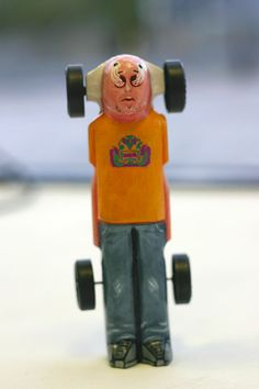 Why me? Pinewood Derby Car