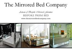 The infamous PRISM MIRRORED BED from The Mirrored Bed Company. Beds built around your dreams... contact us now to help us make yours!