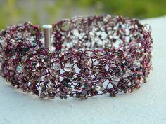 Custom Order for Kathy  Purple Crochet Wire by uniquenique on Etsy, $28.00 #onfireteam #lacwe #teamfest