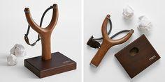 Desktop Wood Slingshot
