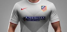 Atletico Madrids Away Shirt For   It Will Be The First Time