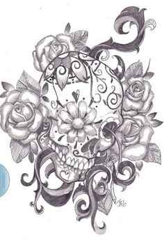 tattoo ideas, rose, thigh tattoos, tattoo sketches, color