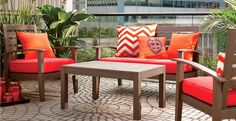 Urban Outdoor Living that's Cosmopolitan Cozy at Cost Plus World Market >> #Worldmarket Outdoor Entertaining & Decor