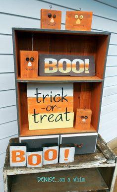 Boo! {Spooktacular Halloween DIY Projects}