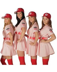 Rockford Peaches Adult Women's Costume by addie.  AWESOME!!!!