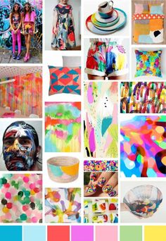 S/S 2015 Print Trend | Expressionism - Write On Trend