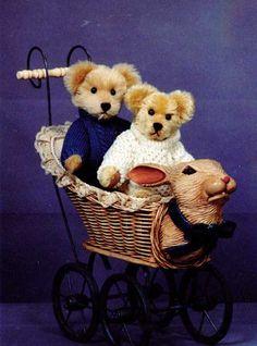 Several teddy bear patterns