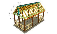 pergola, pavilion plan, outdoor pavilion