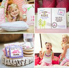 Ricki's adorable glam camping party