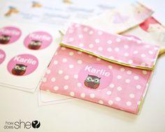 DIY snack bag  #howdoesshe #diyproject #snackbag #diysnackbag #reusablesnackbag #resuablebag #personalizedsnackbag