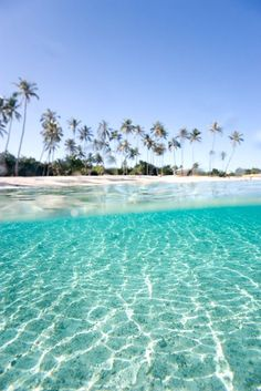 Turqoise Beach in Moorea, Tahiti