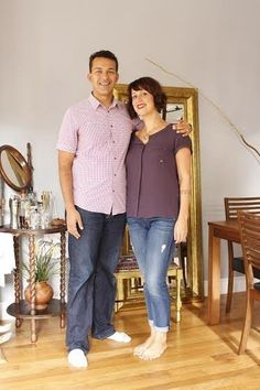 Melissa and Ramzy's Colorful, Creative & Comfortable Home — House Tour   Apartment Therapy
