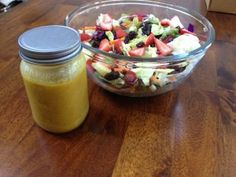 Homemade Honey Lime Dressing Recipe. Made a variation of this today-- Awesome!