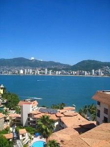 Acapulco, Mexico. A great shot of the bay.