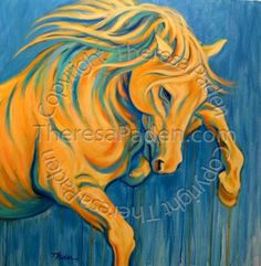 . artists, hors paint, hors tattoo, horse paintings, theresa paden, galleri artist, daili painter, canvases, sunshin frolic