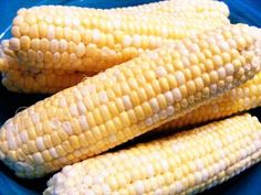 How to Freeze Corn by Once a Month Mom | OAMC from Once A Month Meals