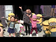 Despicable Me: Minion Mayhem at Universal Studios Orlando, Florida