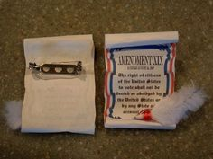 Girl Scout Swaps 19th Amendment Scrolls 10 Pins | eBay Pinned for inspiration