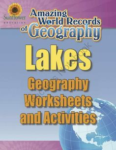 LAKES�Geography Worksheets and Activities from Sunflower Education on TeachersNotebook.com -  (13 pages)  - A complete lesson about the world's largest lake�THE CASPIAN SEA! Includes Geography worksheets and activities.