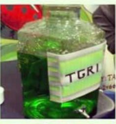Make green juice and call it TGRI punch (the stuff that mutated the turtles)