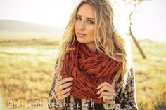 Gorgeous arm-knit infinity scarf, my go-to fall accessory