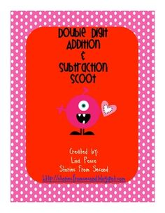 Do you need an activity to review double digit addition and subtraction? Then this scoot game is for you!