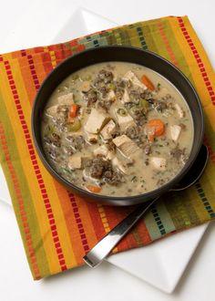 #recipeoftheday Chicken & Wild Rice Soup