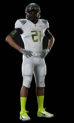 Oregon Ducks football uniforms