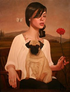 Paintings by Kris Lewis