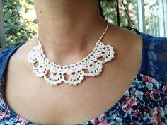 PDF Tutorial  Crochet Pattern Lace Jewelry  by accessoriesbynez,