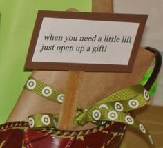 When you need a little lift.. get well gift basket
