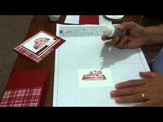 Stampin' Up! Christmas Card Ideas: Snow Topped Roofs