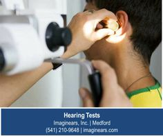 http://imaginears.com – In addition to testing you ability to hear various standard tones and frequencies, your hearing specialist will conduct a physical examination of your ears. In some cases your hearing loss can be reversed with a simple ear cleaning or blockage removal. Contact Imaginears, Inc. for a professional hearing test in Medford.
