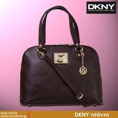 DKNY τσάντα μπορντώ, ταμπά, μαύρη ή καφέ    shop online >> http://www.styledropper.com/tsouderos?pid=13103=el    Τσάντα δερμάτινη ταμπά, μπορντώ, μαύρη ή καφέ. Με δυο λουράκια και ένα μακρύ για τον ώμο. Κλείνει με φερμουάρ. Μοντέρνα και πρακτική. Υπέροχη στις καθημερινές σας εμφανίσεις με πρόταση της DKNY. Διαστάσεις Μ 39 Χ Υ 27