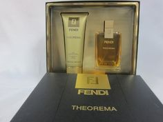 FENDI THEOREMA 2PC SET FOR LADIES 3.4 OZ EAU DE PARFUM SPRAY FREE LOTION by Fendi. $278.33. HARD TO FIND. FENDI THEOREMA 2PC SET WITH 3.4 OZ EAU DE PARFUM AND FREE LOTION. SAME DAY SHIPPING!!!!!!!!!. FENDI THEOREMA Perfume for Women has fragrance notes of a variety of different scents. All products are original, authentic name brands. We never sell knockoffs or imitations to any client.