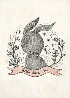 Whimsy Whimsical Forest Animals Illustrations 2011 by Yee Von Chan, via Behance hello, rabbit, animal illustrations, whimsical forest, whimsic forest, art prints, art drawings, bunni, whimsical illustration