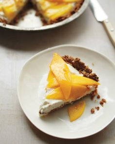 Ginger-Mango Cream Pie Recipe
