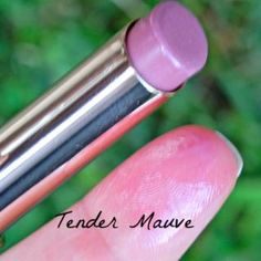 Loreal tender mauve   The Great Drugstore Lipstick Duel