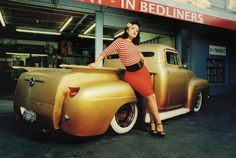 hot rod pin ups