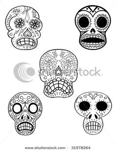 sugar skull #piel #shoppiel #inspiration